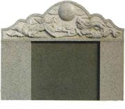 Chinese Style Tombstone 065