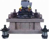 Japanese Style Tombstone 002