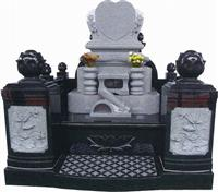 Japanese Style Tombstone 034