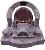 japanese style tombstone 038