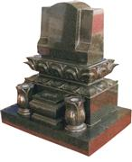 Japanese Style Tombstone 057