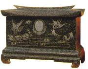 Chinese Style Tombstone 096