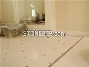 Floor in Limestone
