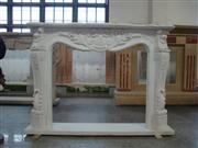 Thassos Marble Fireplace Mantel