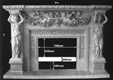 Marble Fireplace Mantel,Barbeque