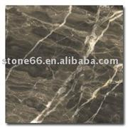 Ming Brown Marble Tile, Slab