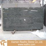 olive green granite slab