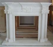 white fireplace 4370