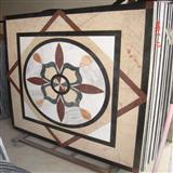 Interior Mosaic Rosette, Waterjet Medallion