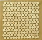 dot beige marble mosaic