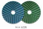 4 inch Diamond dry flexible polishing pads for sto