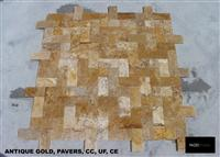 Golden Travertine - Paving Stone