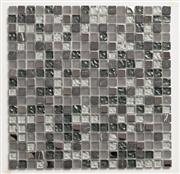 glass and stone mixed mosaic tiles