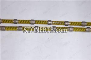 Diamond wire for block