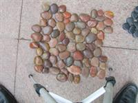 Stone Pieces With Net Pebble Stone