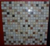 Mixed Colored Stone Mosaic Pattern, Mosaic Tile