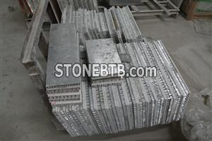 Aluminum honeycomb stone composite panel