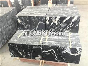 Nero fantasy black granite China natural granite stone