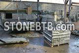 Granite paving stone for exterior usage,New black Impala,granite cubes