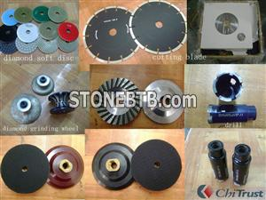 stone tool diamond disc saw blade diamond grinding wheels drill cutting blade brush