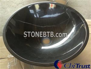 China Black Bathroom Sink