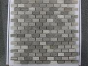 Natural Marble Moasic Tiles on Mesh