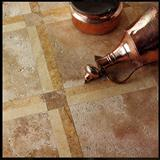 Antiquated Walnut Travertine Floor Tiles