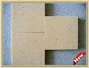 BEIGE Middle Flower Artificial Stone