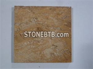 Yellow Travertine Marble Tile