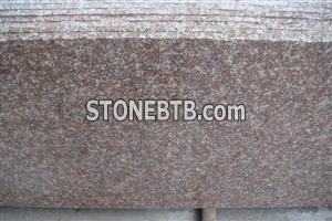 G687 Peach Flower Chinese Red Granite Small Slab