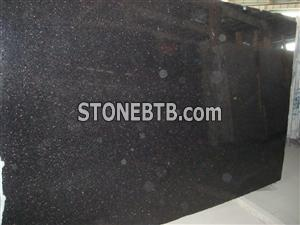 Black Galaxy Granite Slab