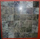 Forest Green Marble Mosaic Pattern