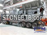 Portable Crusher 100 Tph For Gold Ore/Mobile Crusher Price