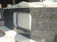 China Blue Butterfly countertop, granite workt