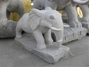 Granite Animal Sculpture, Elephant Sculpture