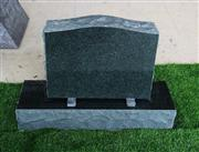 Evergreen Granite American Upright Die and Base Monument