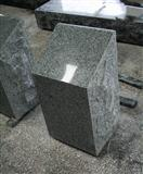 Light Grey G633 Polished Square Cemetery Slant Marker Tombstone
