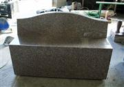 Chandler Pink Granite Bench