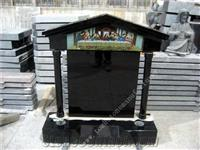 shanxi black headstone 9