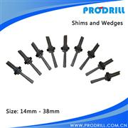 Wedges and shims / Hand Splitter/ Plug and Feathers/Feather Pair and Wedges