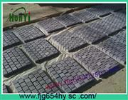China G654 black granite paving stones/paver stone