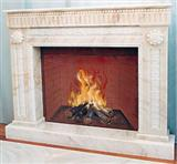 Limestone-Marble-Travertine Fireplaces