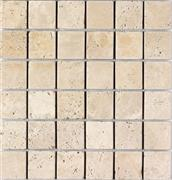 Beige Travertine Mosaics 4.8x4.8cm