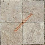 WALNUT TRAVERTINE Crosscut Tiles