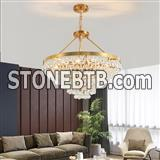 gold crystal chandelier80