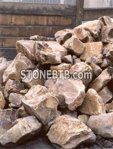 Rockery Feature Stone Golden Quartzite