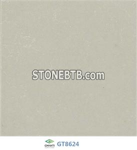 Polar Pure White Quartz Stone for Kitchen Countertops