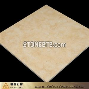 Imported beige marble tiles
