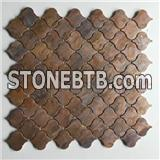 Lantern Copper Mosaic Tile