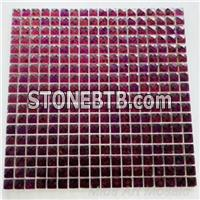 Lavender Mirror Glass Mosaic Tile